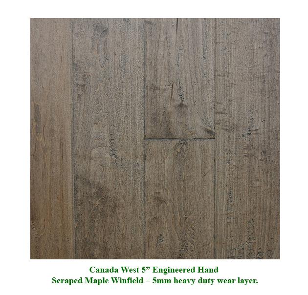 Canada West Wood Flooring Solutions 5 Engineered Heavy