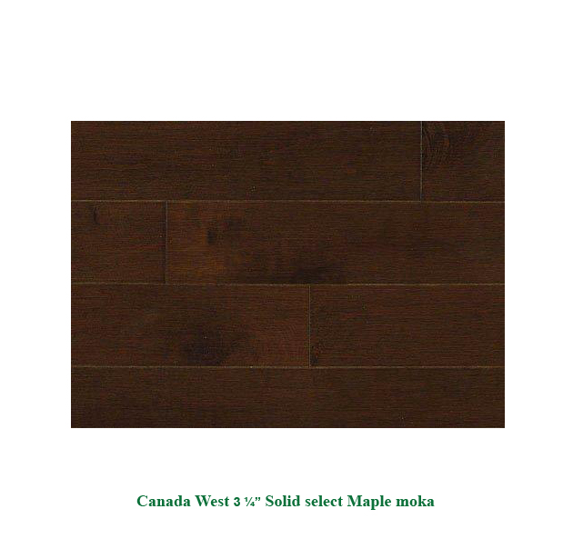 Canada West Wood Flooring Solutions Solid 3 1 4