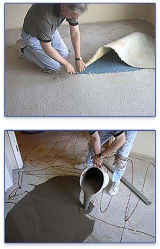 Canada West Wood Flooring Solutions Install Subfloor